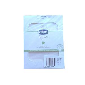 Chicco Organic Body neonati 100% cotone mesi 6 colore bianco manica corta (1 pz)