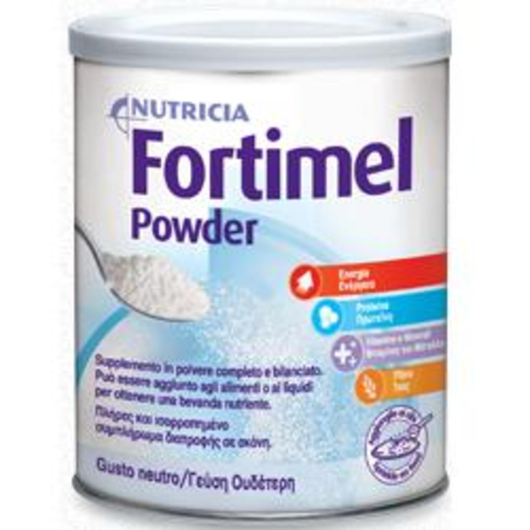 danone nutricia spa soc.ben. fortimel powder neutro 670 g