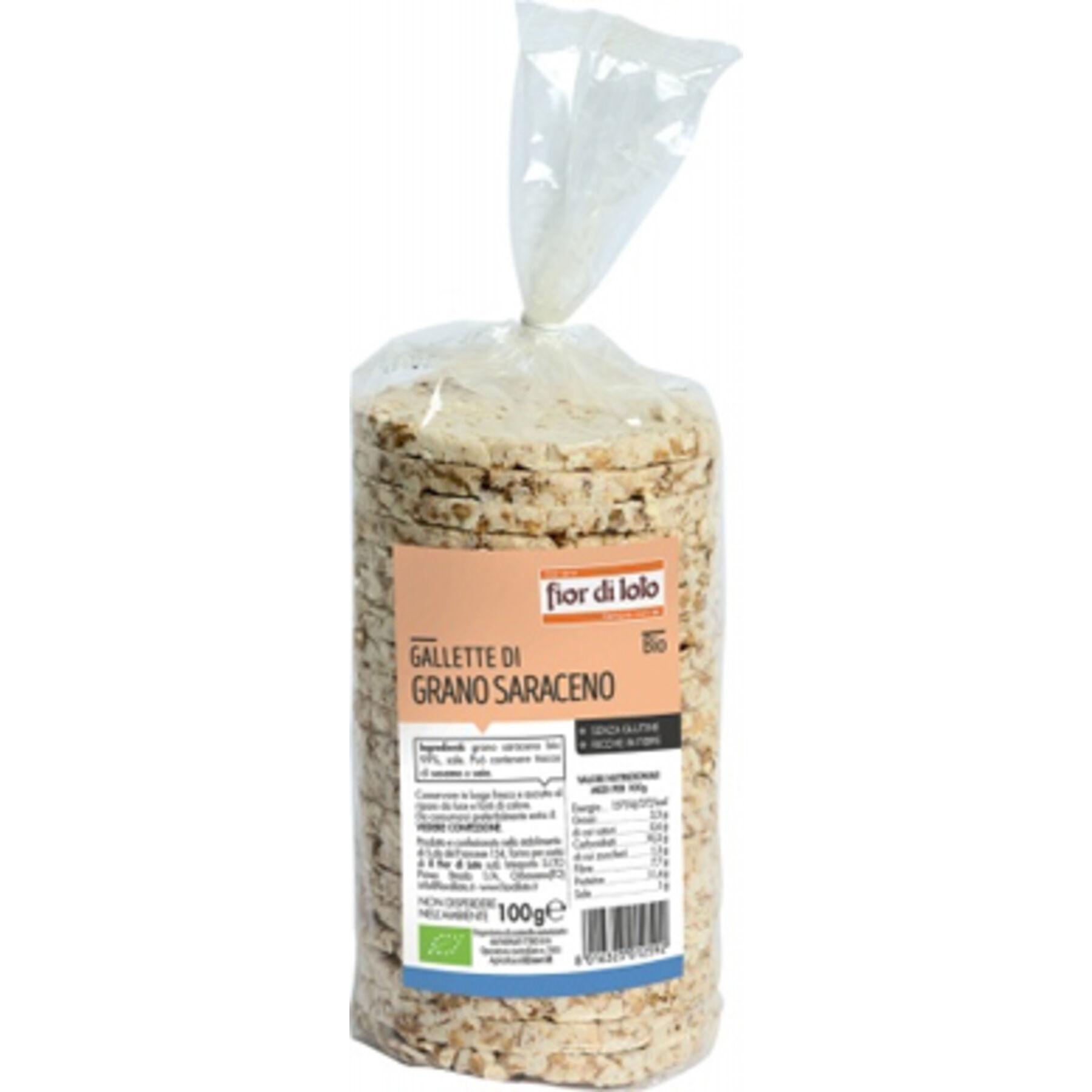 BIOTOBIO Srl Gallette di grano saraceno bio 100 g