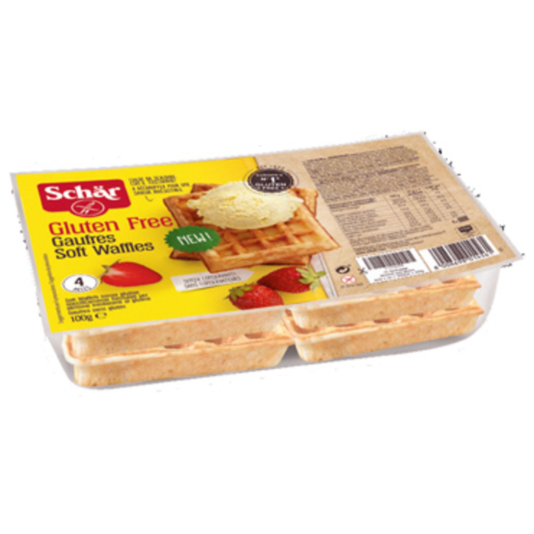 DR.SCHAR SpA Schar gaufre soft waffles 100 g