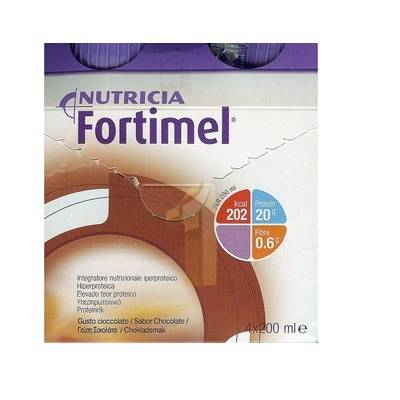 Nutricia Fortimel Cioccolato (4 flaconi x 200 ml)
