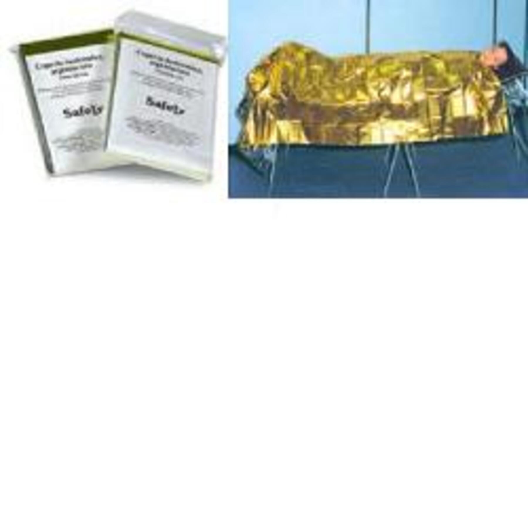 safety spa coperta isotermica antinfortunistica