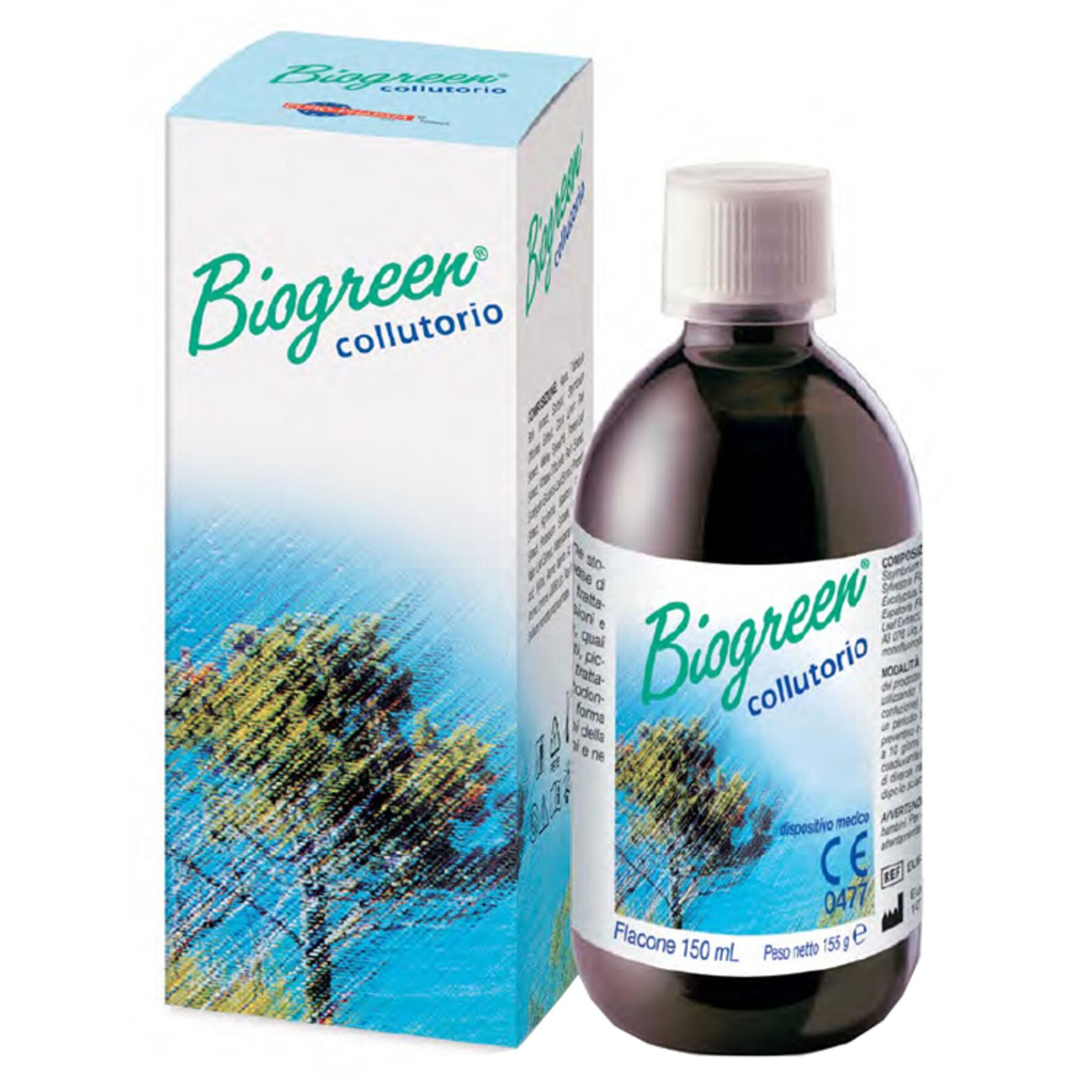 euro-pharma srl collutorio biogreen 150 ml