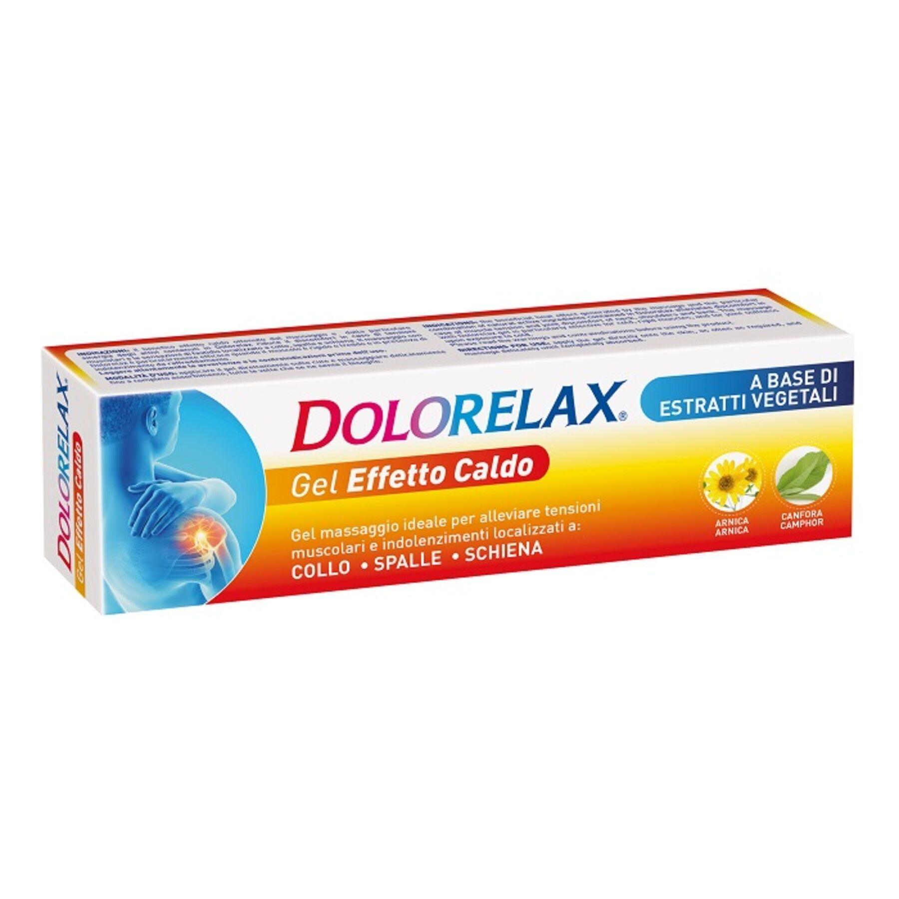 coswell spa dolorelax gel effetto caldo 75 ml