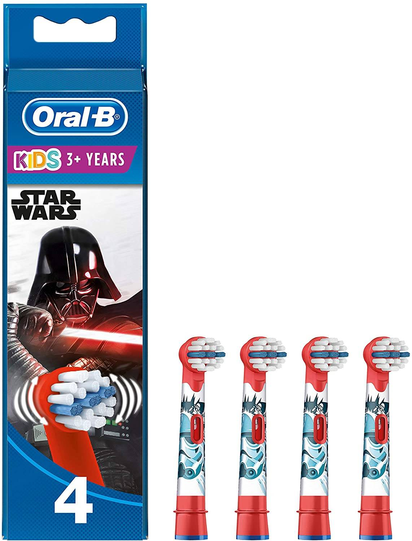 Procter & Gamble Oral B Kids Star Wars testine di ricambio 3+ anni (4 pezzi)