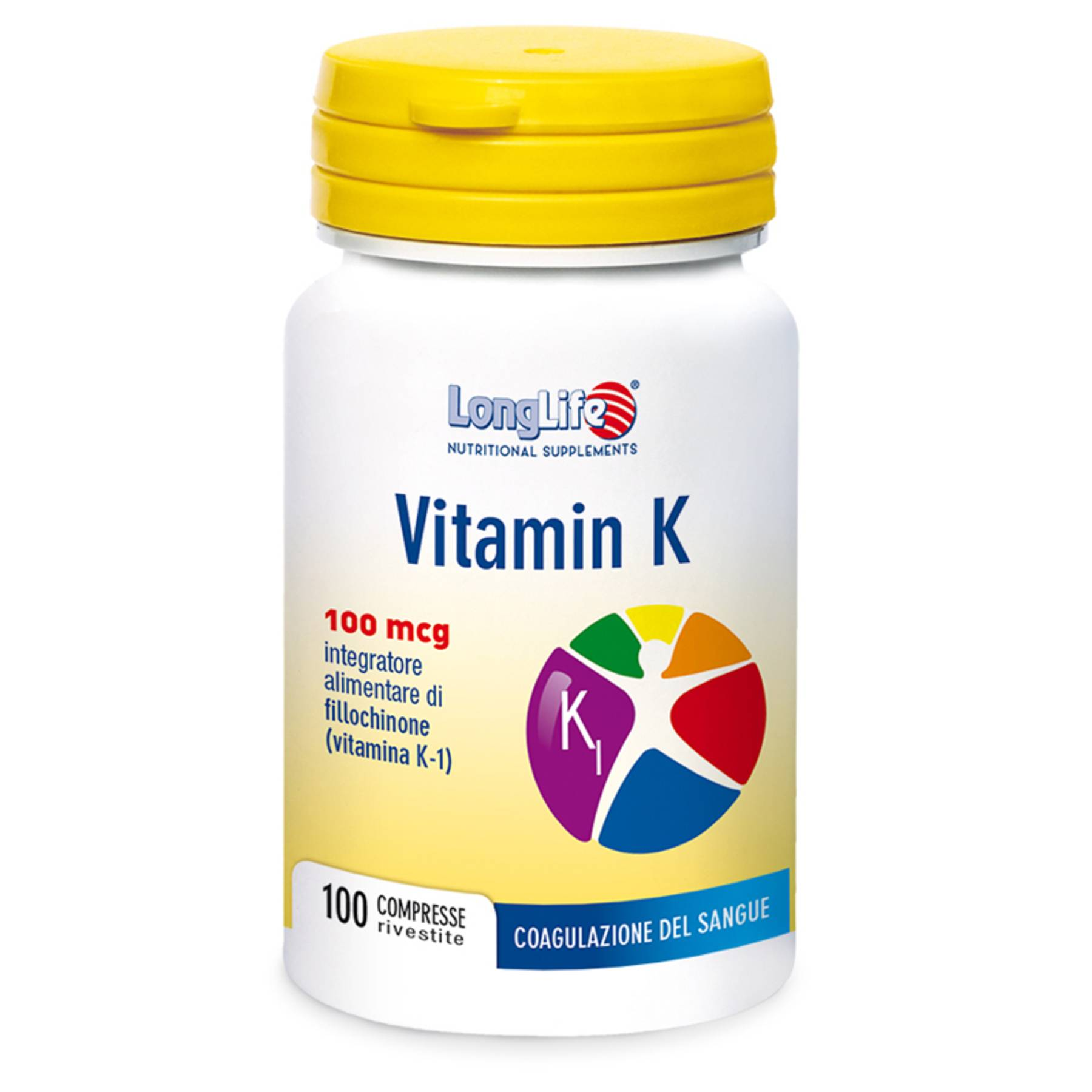 Phoenix Longlife vitamin k 100mcg 100 compresse