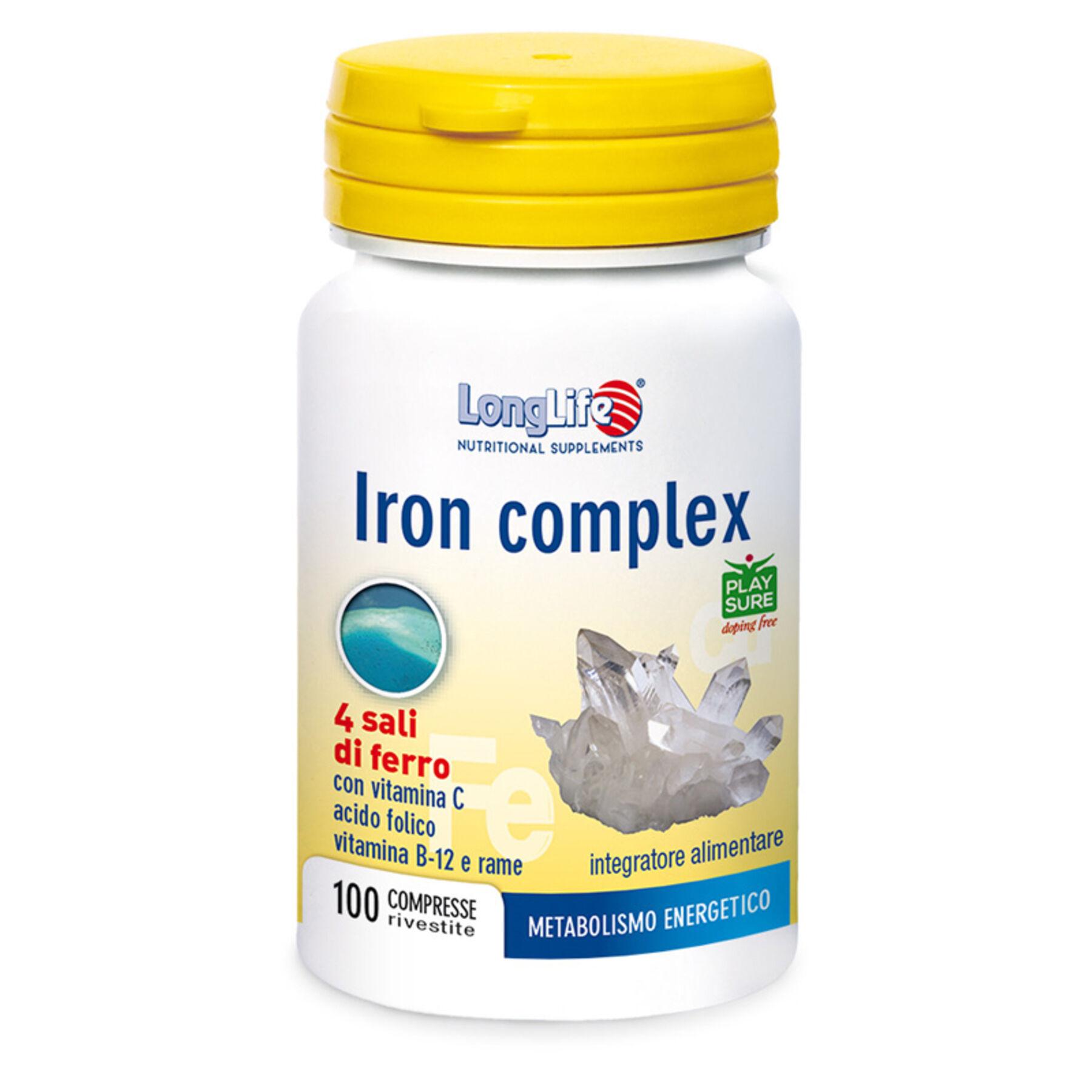 Phoenix Longlife iron complex 100 compresse