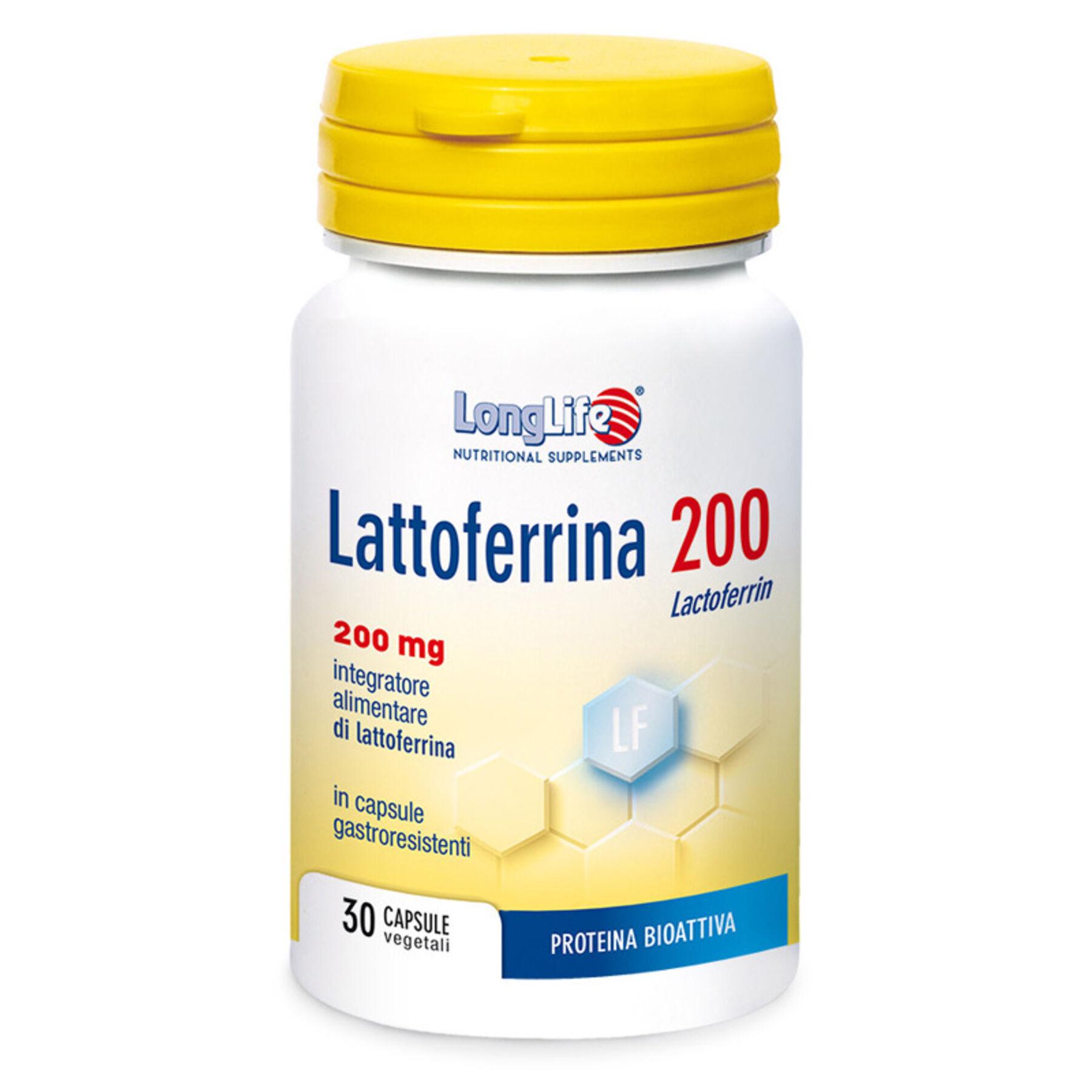 Phoenix Longlife lattoferrina200 30 capsule gastroresistenti