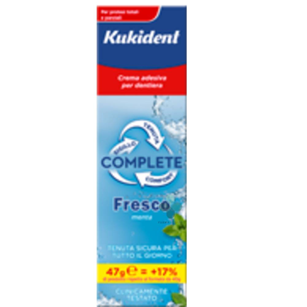 Procter & Gamble Kukident Complete Fresco crema adesiva per protesi dentali (47 g)