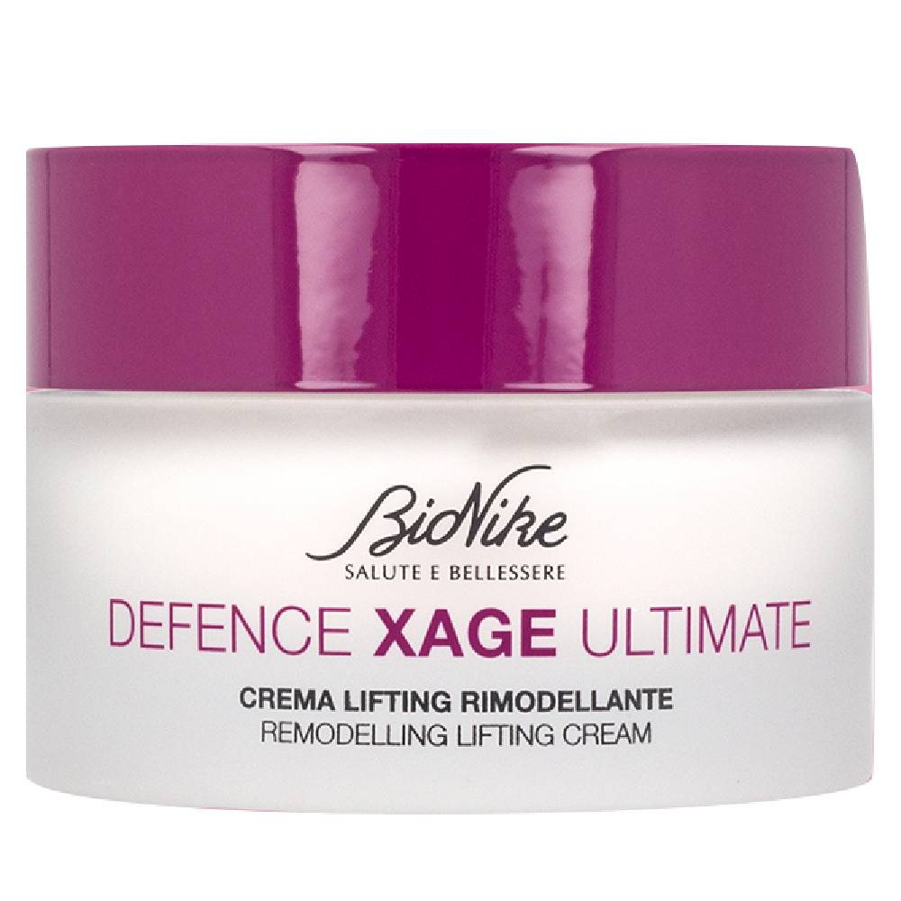 BioNike Defence Xage Ultimate Crema viso Lifting rimodellante rughe profonde (50 ml)