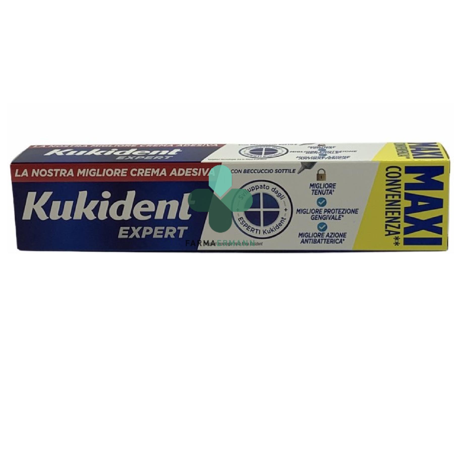 Procter & Gamble Kukident expert crema adesiva per dentiere (57 g)