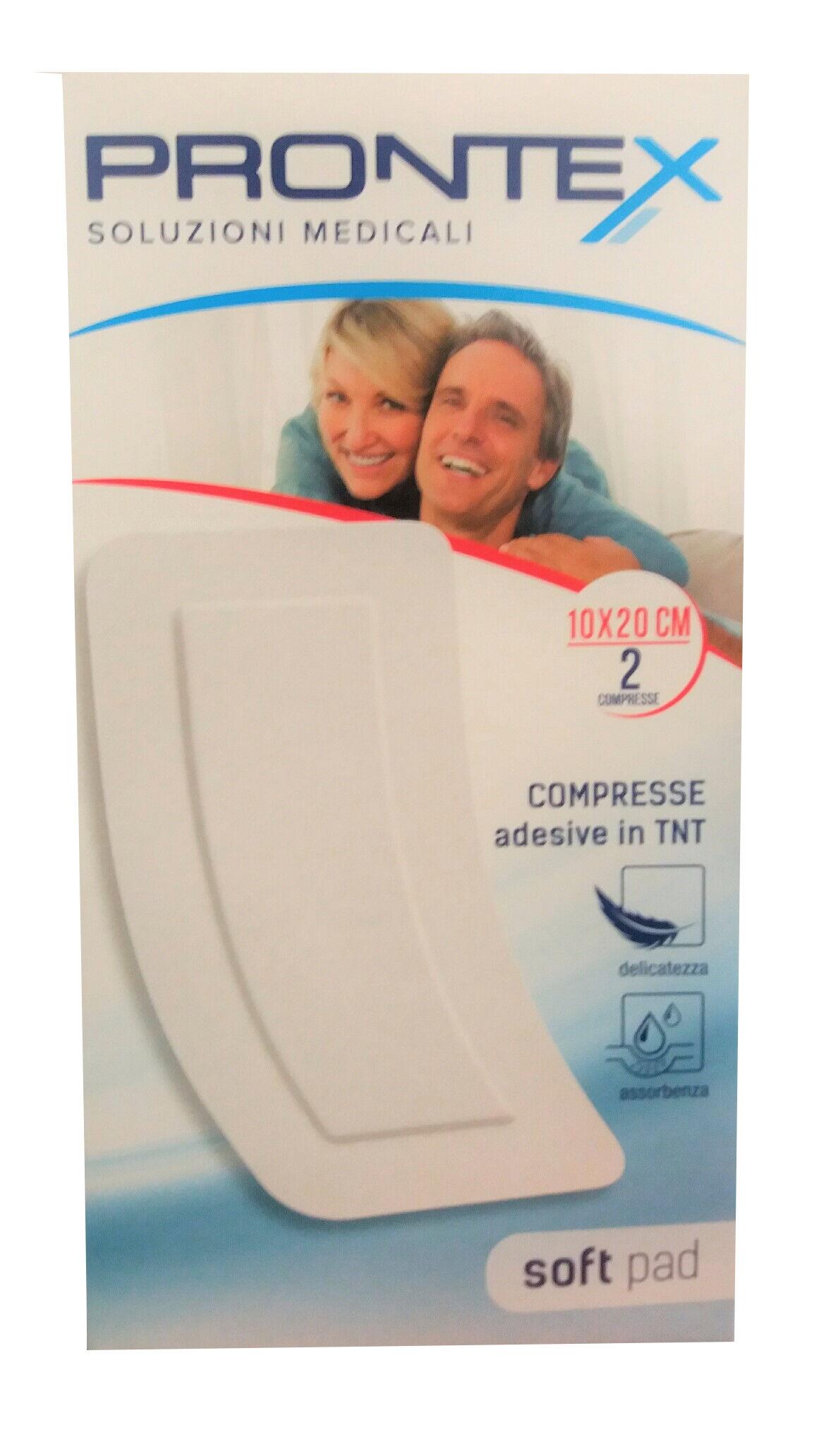 Safety Soft Pad Compresse Adesive Sterili formato 10X20cm (2 compresse)