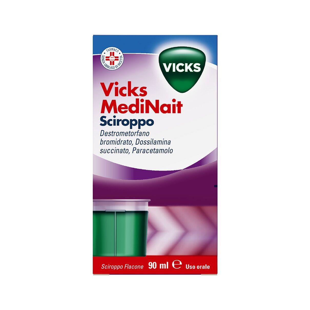 Procter & Gamble Vicks MediNait Sciroppo (90 ml)