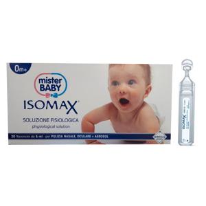 Euritalia Isomax Soluzione Fisiologica neonati bambini e adulti (20 flaconcini)