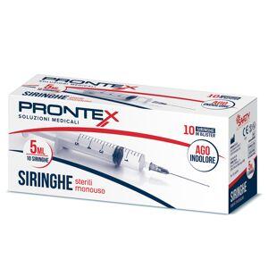 Safety Prontex Siringhe 5ml con ago indolore (10 pz)