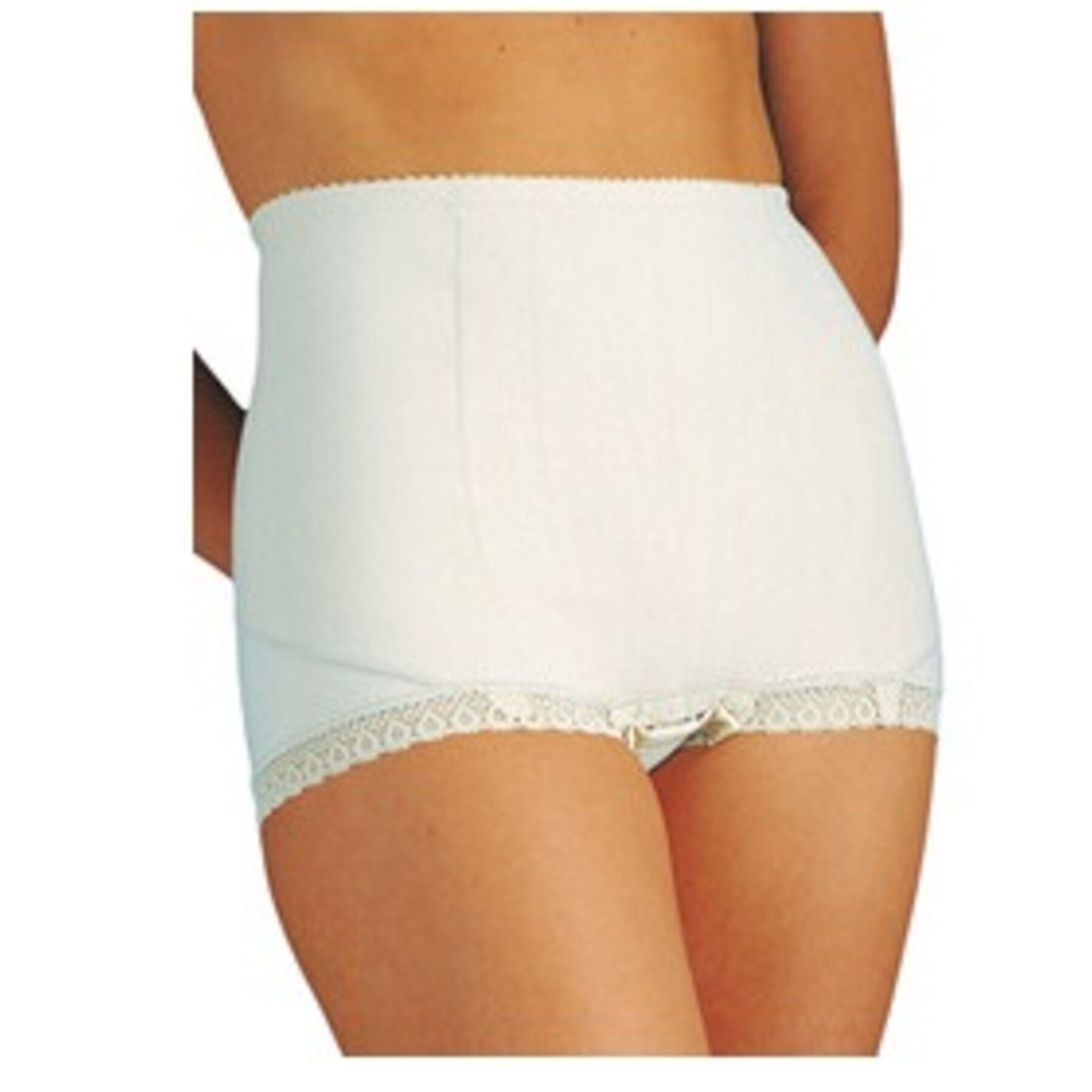 DUAL SANITALY SpA Mutanda elastica contenitiva alta da donna dualsan colore bianco misura 6
