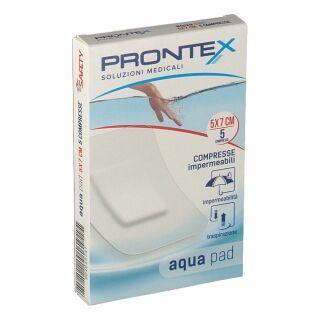 Safety Acqua Pad Compresse adesive impermeabili e traspiranti 5x7cm (5 pz)