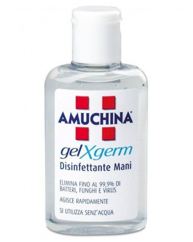 angelini amuchina gel disinfettante mani antisettico x germ (80 ml)