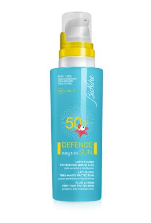 BioNike Defence Sun Baby & Kid Latte solare fluido bimbi e neonati spf 50+ (125 ml)