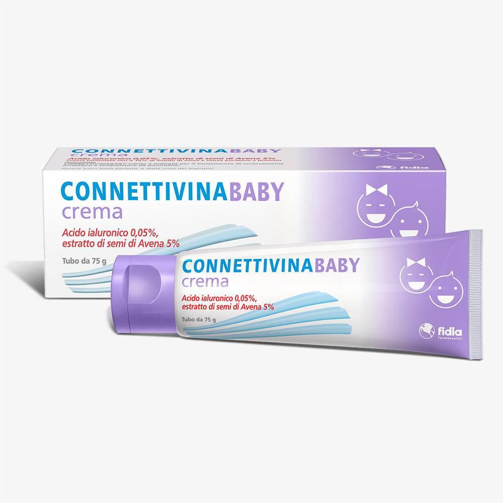 Fidia Connettivina Baby crema per arrossamenti irritazioni e screpolature da pannolino (75 g)