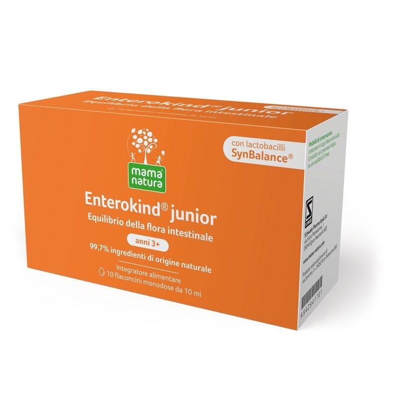 Schwabe Mama Natura Enterokind Junior fermenti lattici vivi per bambini 3-12 anni (10 flaconcini)
