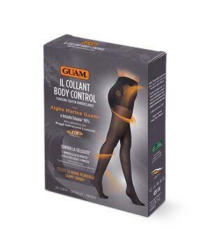 lacote guam collant  body control calze contro la cellulite 50 denari nero opaco taglia m/l