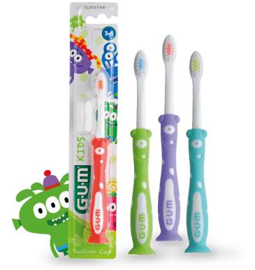 Sunstar Gum Kids Spazzolino per bambini dai 3 ai 6 anni (1 pz)
