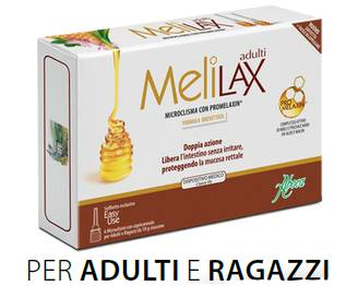 Aboca Melilax Microclismi doppia azione adulti e ragazzi (6 pz)
