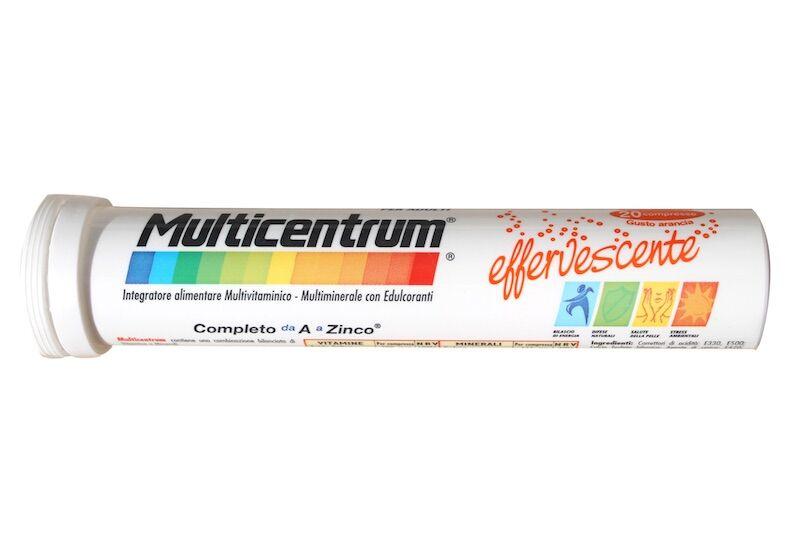 Pfizer Multicentrum arancia adulti (20 cpr effervescenti)