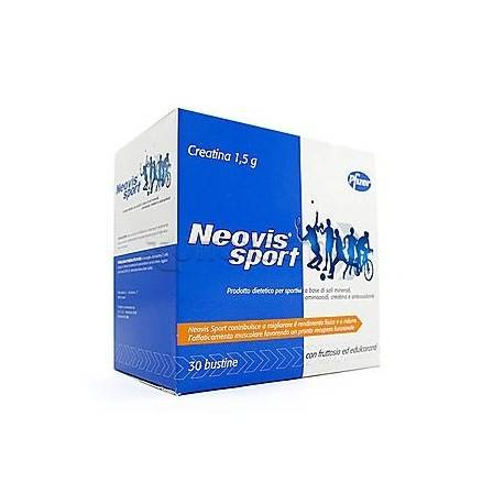 Pfizer Neovis Sport integratore gusto arancia (30 bustine)
