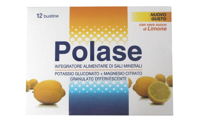 Pfizer Polase Classico effervescente con vero succo Limone (12 bustine)