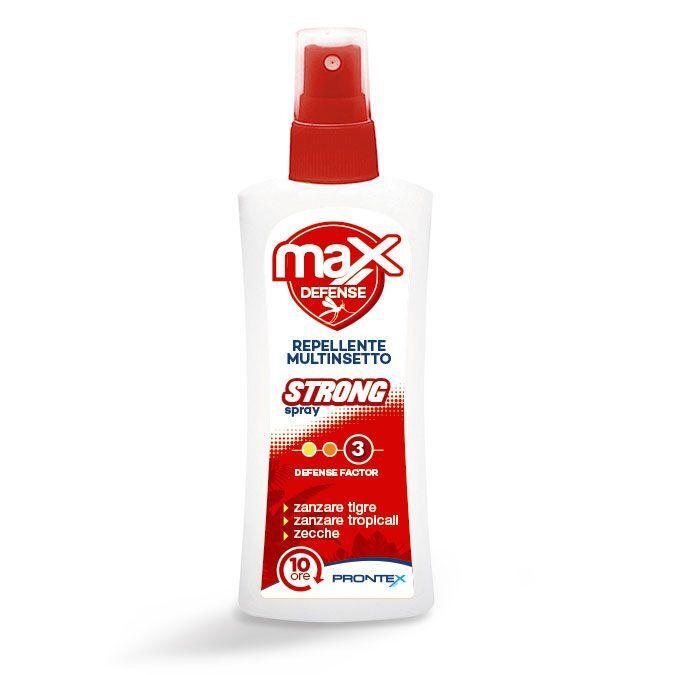Safety Prontex Max Defense Spray Strong insettorepellente multinsetto (75 ml)