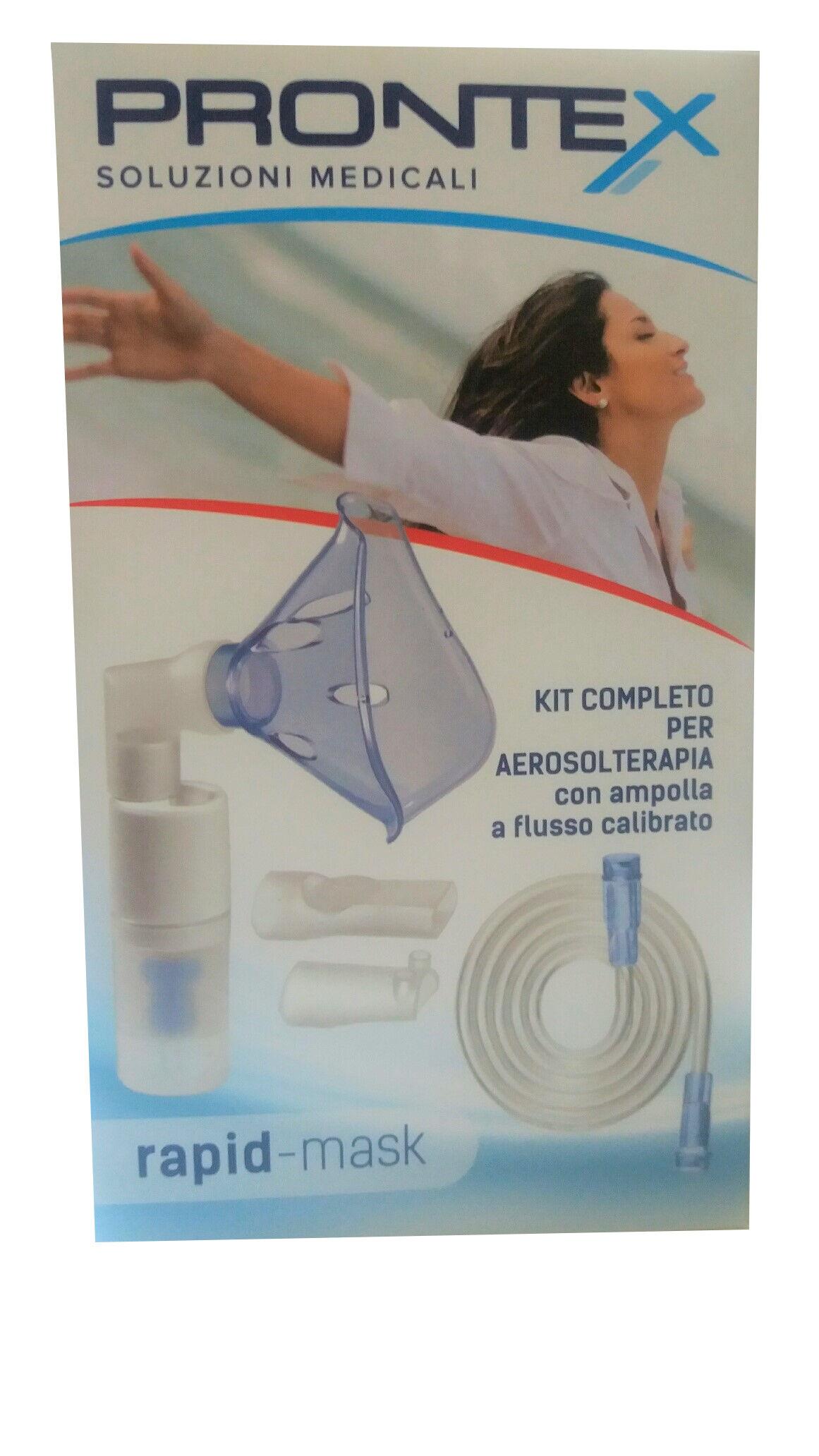 Safety Prontex Rapid mask Kit universale completo per aerosolterapia