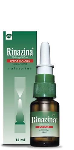 Glaxosmithkline Rinazina Spray nasale 10mg/ml (15 ml)