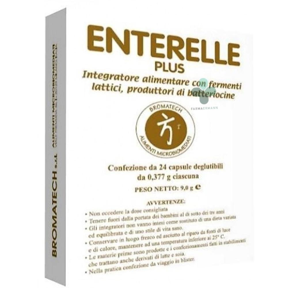 Bromatech Enterelle plus fermenti lattici (24 capsule deglutibili)