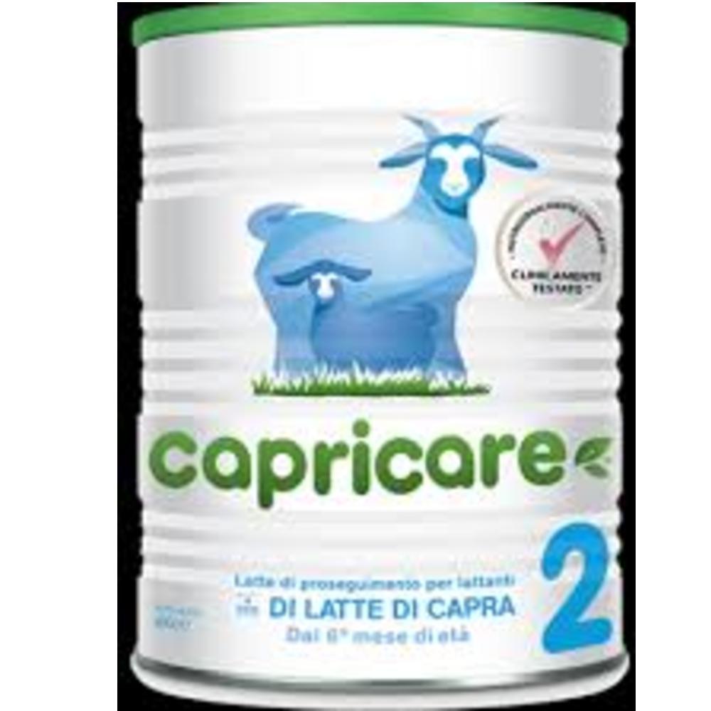 Junia Capricare 2 latte di capra intero in polvere di proseguimento per lattanti 6-12 mesi (400 g)