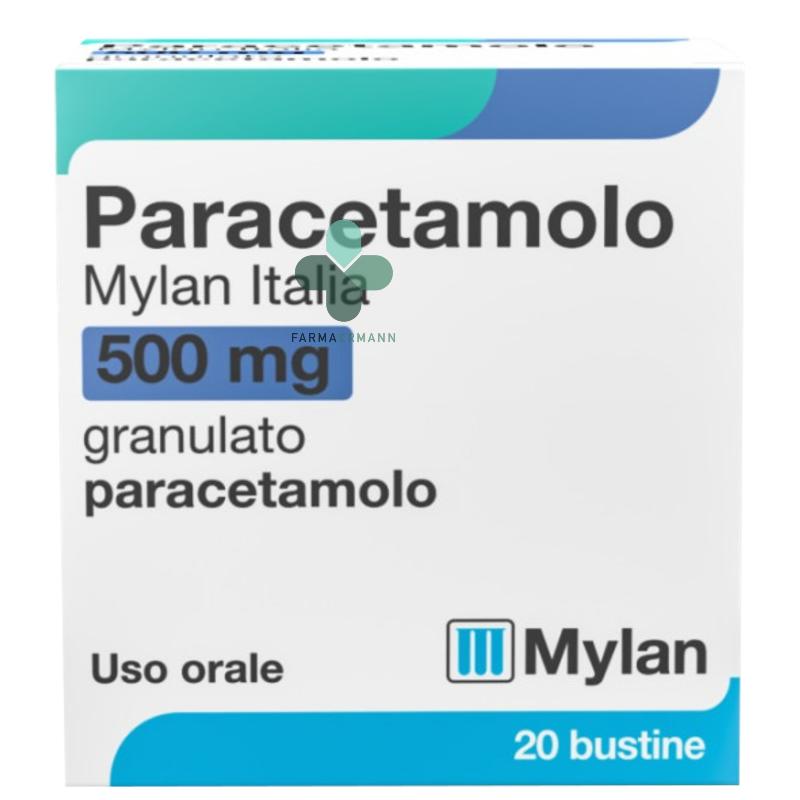 Mylan Paracetamolo Mylan Italia 500mg granulato uso orale (20 bustine)