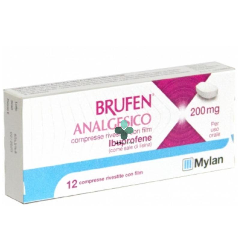 Mylan Brufen analgesico ibuprofene 200mg uso orale (12 compresse)