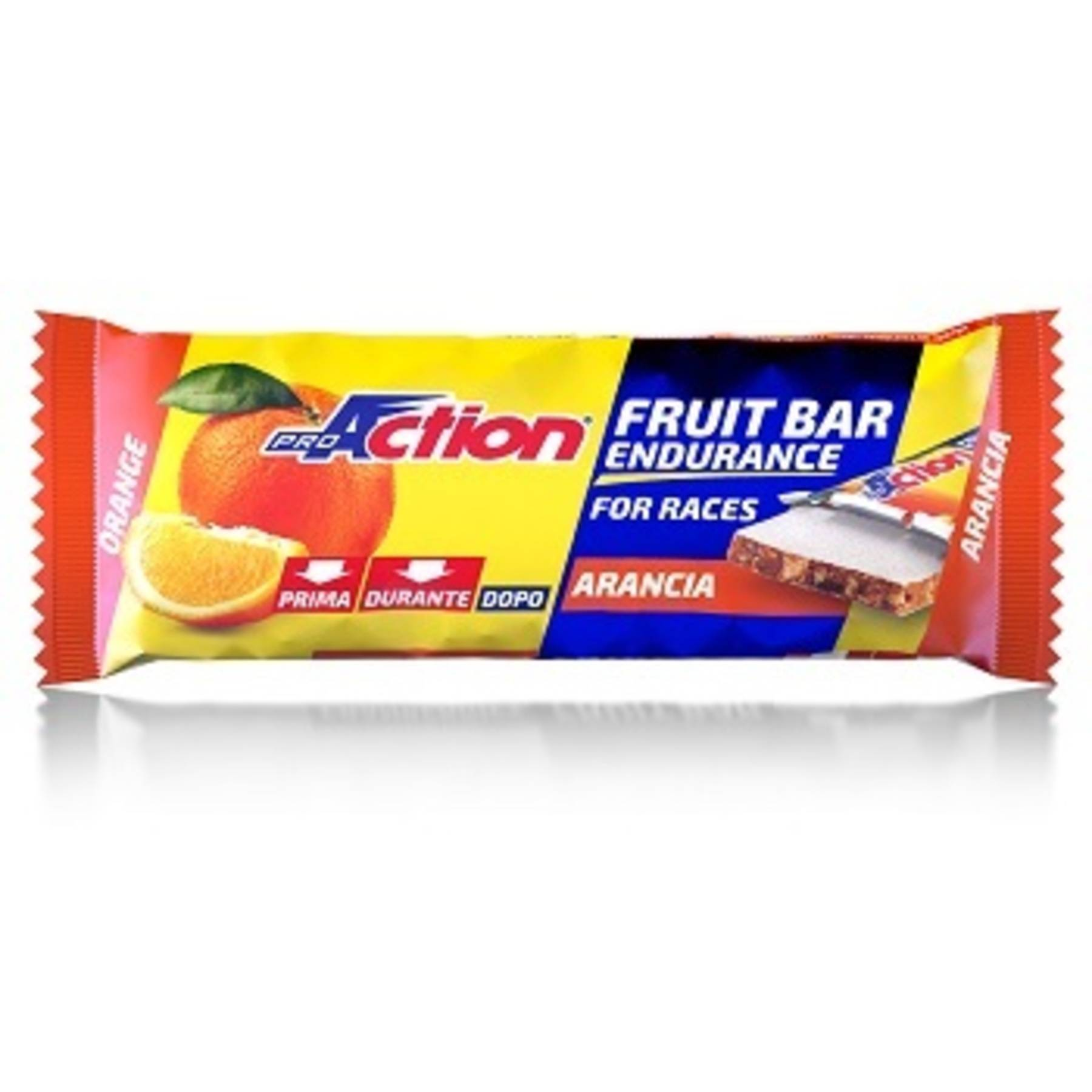 proaction srl proaction fruit bar barretta energetica all'arancia 40 g