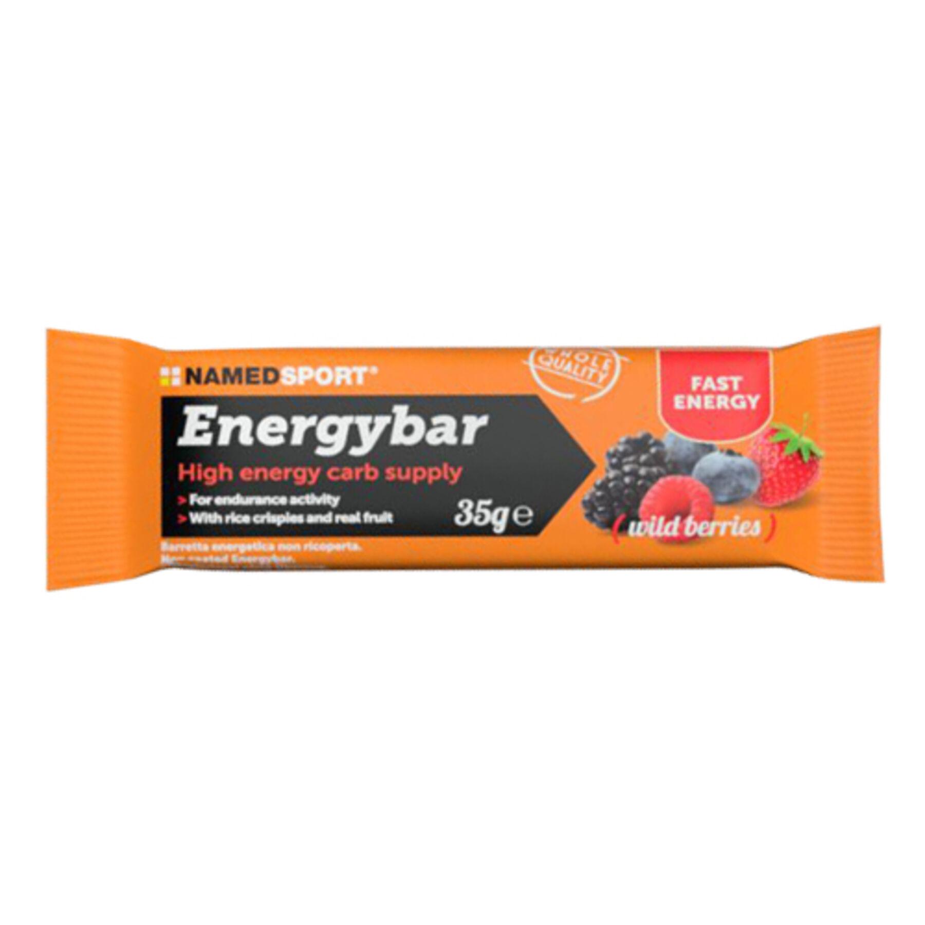 namedsport srl energybar fruit bar wild berrie 35 g