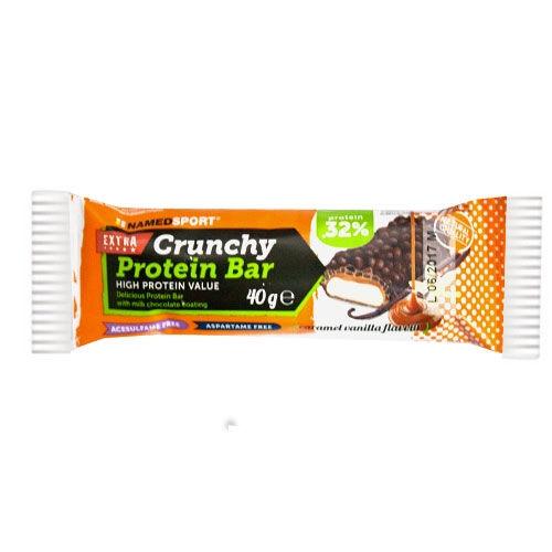 named sport extra crunchy protein bar barretta proteica caramello vaniglia (40g)