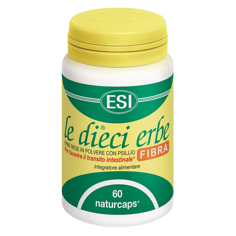 Esi Le Dieci Erbe Fibra transito intestinale e digestione (60 naturcaps)