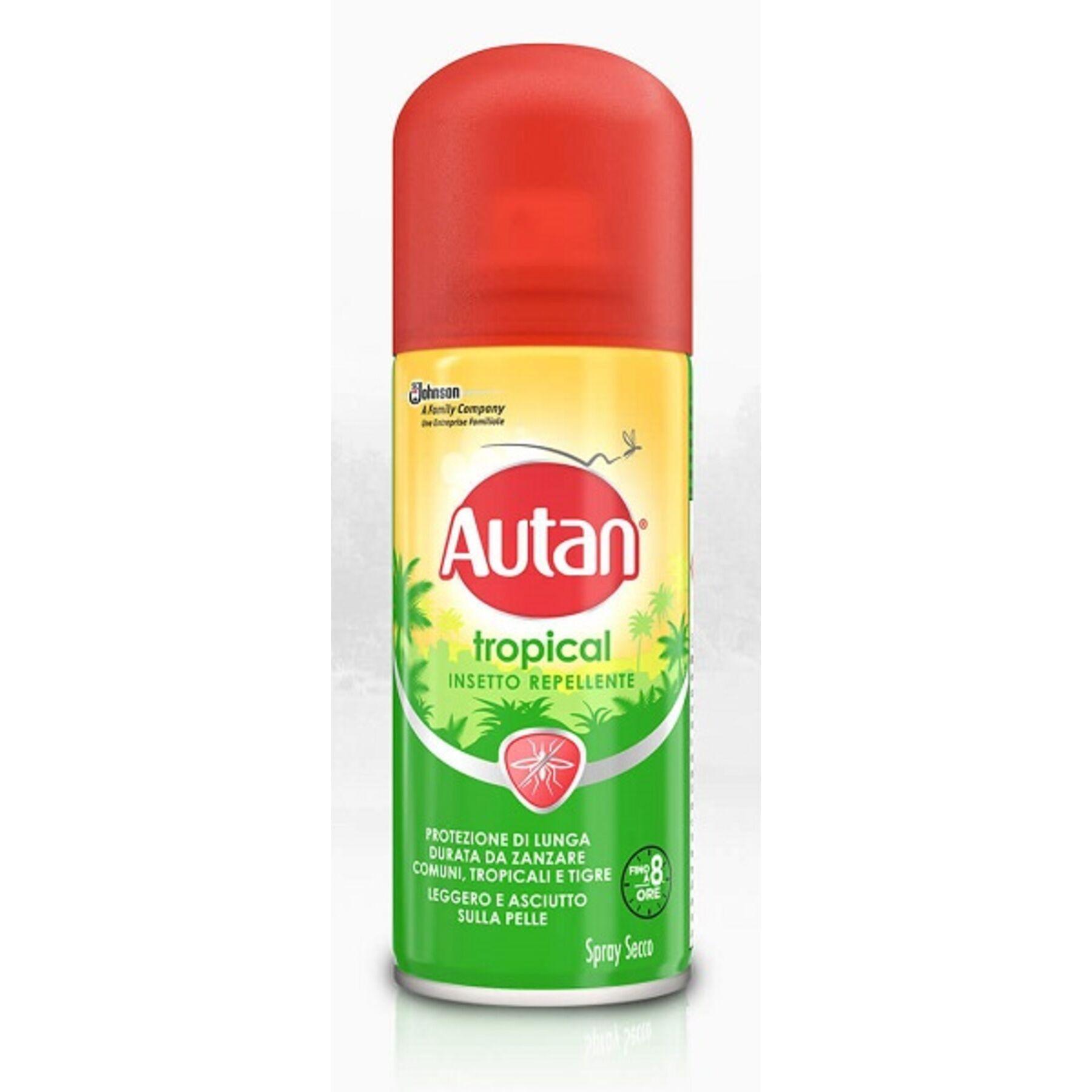 sc johnson italy srl autan tropical spray secco 100 ml