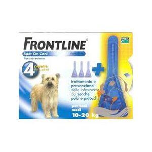 Merial Italia Frontline Spot on antiparassitario per Cani da 10 a 20 kg (4 pipette)