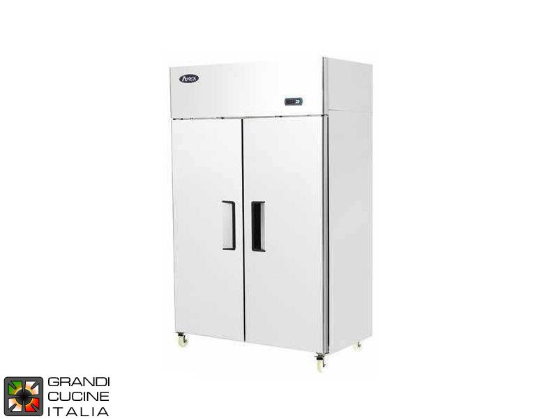 Offerta Grandicucineitalia.it - Attrezzature per ristorazione - Armadio frigorifero doppia temperatura su ruote - 900 litri - Temperatura -2°C / +8°C e -22°C / -18°C - NUOVO Non Venduto - Cod. YBF9239OFF - Offerta