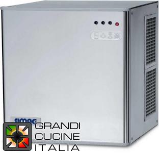 Simag Grandicucineitalia.it - Attrezzature per ristorazione - Produttore di ghiaccio cubetto quadro - Produzione 205kg / 24h - Senza contenitore - Raffreddamento ad acqua - Cod. SV205W - Simag