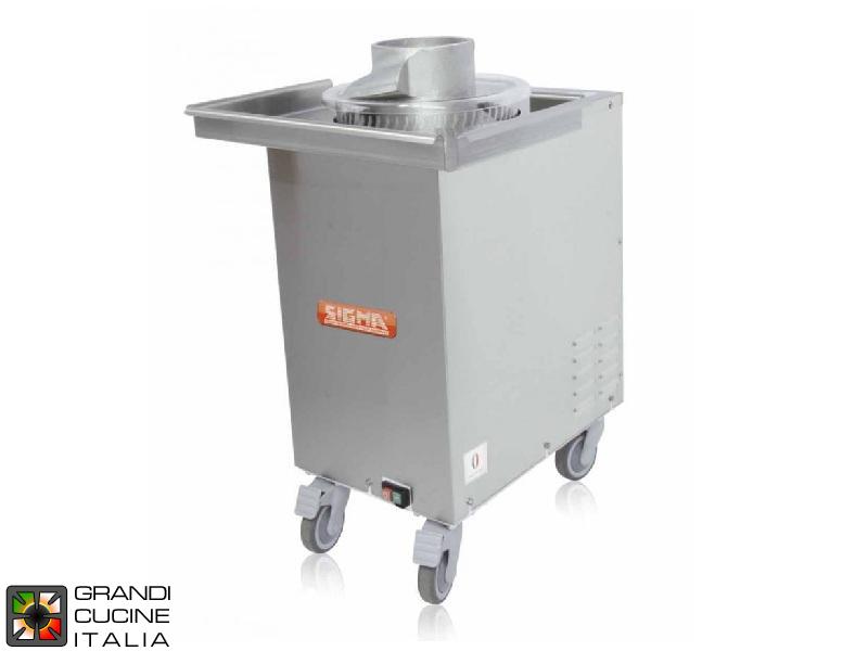 Sigma Grandicucineitalia.it - Attrezzature per ristorazione - Arrotondatrice a Coclea - Automatica - Capacità Impasto 30-1000 g - Cod. SFERA - Sigma