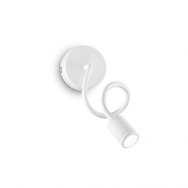ideal lux focus ap1 - applique flessibile a led - bianco