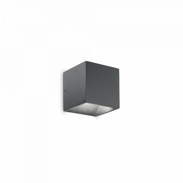 ideal lux rubik ap1 led s - antracite
