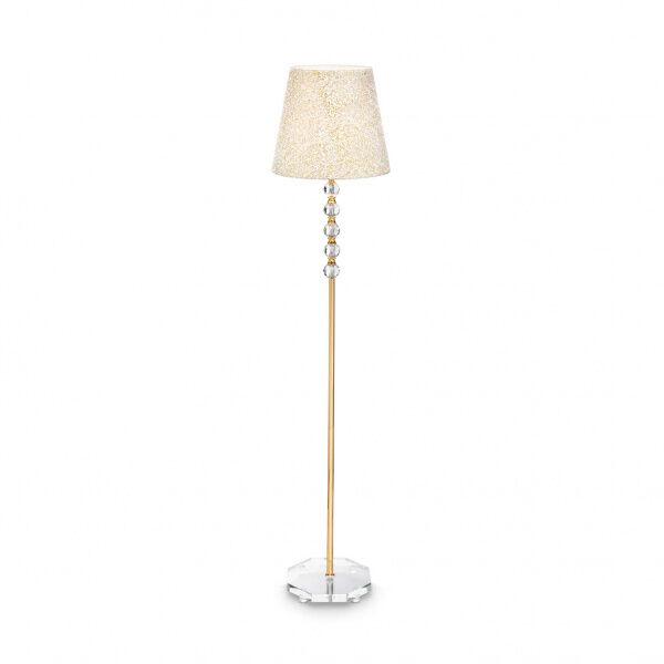 ideal lux queen pt1 - piantana - oro